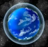 Little oceanic planet Stock Photos