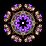 Digital art design, light decoration royalty free illustration