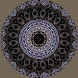 Digital art design. Filigree oriental pattern. Digital art design. Abstract pattern of a wall with arabic pattern seen through kaleidoscope vector illustration