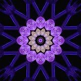 Digital art design, light decoration vector illustration