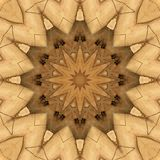 Digital art design, pattern made with sand construction. Digital art design. Abstract colorful texture made of sand construction seen through kaleidoscope vector illustration
