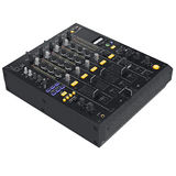 Digital audio equipment. With buttons control parameters. 3D graphic Royalty Free Stock Image