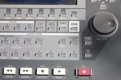 Digital audio mixer Stock Photo
