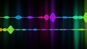 Digital Audio Spectrum stock footage