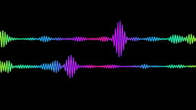Digital Audio Spectrum stock video