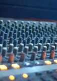 Digital-Audioarbeitsplatz Stockfotos
