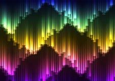 Digital-Aurorazusammenfassungshintergrund Lizenzfreie Stockfotografie