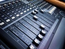 Digital Automated Sound Mixer Stock Photos