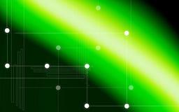 Digital background. Digital illustration of digital background in green Stock Image