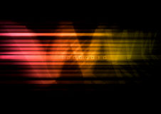 Digital Background. Abstract modern background with colorful lines and www type Stock Images