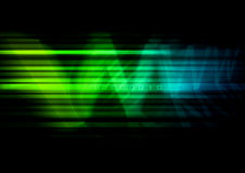 Digital Background. Abstract modern background with colorful lines and www type Stock Image