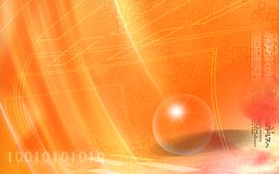 Digital background Stock Image