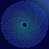 Digital background. Digital code data transmission background on dark Stock Images