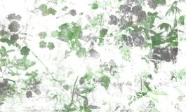Digital background art of floral / flower pattern stock images
