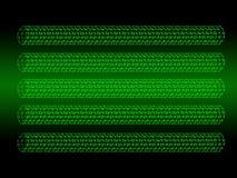 Digital Background. Binary code row as digital background Stock Photography