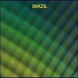 Digital background Brazil Royalty Free Stock Image