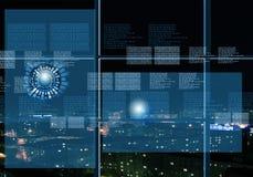 Digital background Stock Image