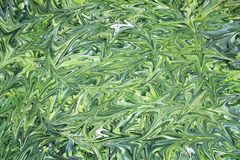 Digital background with liquid abstract green royalty free illustration