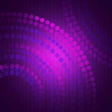 Abstract purple background with circles Stock Photography