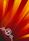 Digital background vector Royalty Free Stock Image