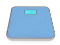 Digital-Badezimmer-Gewichts-Skala Stockbilder