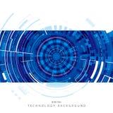 Digital bakgrund för teknologi Royaltyfri Fotografi