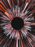 Digital barwił linia abstrakta tło świadczenia 3 d Zdjęcia Stock