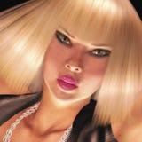 Digital beauty Stock Image