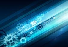 Digital-Begriffsgeschäftstechnologiehintergrund mit Pfeil und stockbilder