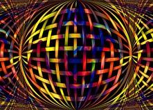 Digital bild av pastellfärgade färger Royaltyfri Bild