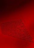 Digital-binärer Code-Hintergrund Lizenzfreie Stockbilder