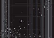 Digital-binärer Code-Technologie Stockbild