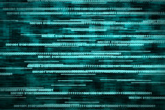 Digital Binary Background Stock Photography