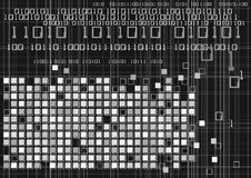 Digital Binary Code Technology Stock Photos