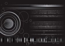 Digital Binary Code Technology Stock Images
