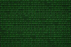 Digital binary computer data and streaming code concept background. vector illustration