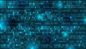 Digital binary tech concept background royalty free stock photography
