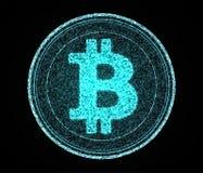 Digital Bitcoin Stockfotos