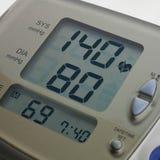 Digital blodtryckmeter Arkivfoton