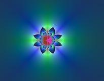 digital blomma Arkivfoto