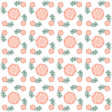 Digital blommor och färger Royaltyfri Fotografi