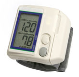 Digital blood pressure gauge Stock Image