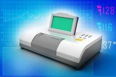 Digital blood pressure gauge Royalty Free Stock Photos