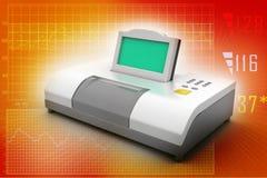 Digital blood pressure gauge Royalty Free Stock Image