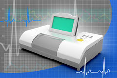 Digital blood pressure gauge Stock Image