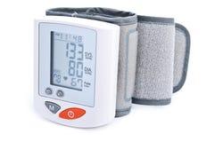 Digital blood pressure measurement royalty free stock photo