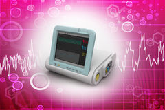 Digital Blood Pressure Monitor Royalty Free Stock Photo