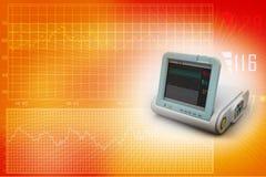 Digital Blood Pressure Monitor Stock Image