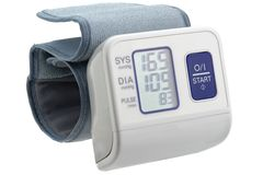 Digital blood pressure monitor Royalty Free Stock Image