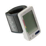 Digital blood pressure monitor. Tonometer Stock Image